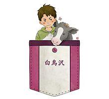 Pocket Ushiwaka Photographic Print