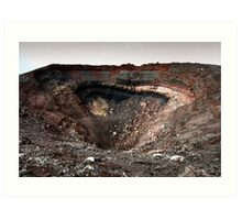 The Crater Art Print