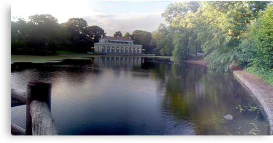 Prospect Park Boathouse by andytechie