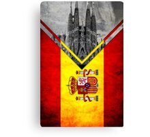 Flags - Spain Canvas Print