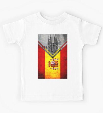 Flags - Spain Kids Tee