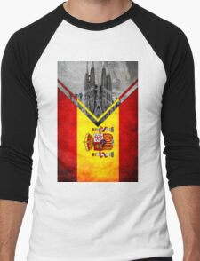 Flags - Spain Men's Baseball ¾ T-Shirt