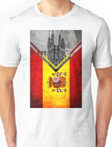 Flags - Spain Unisex T-Shirt