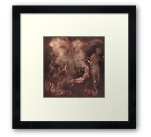 Applause and the Butterfly Framed Print