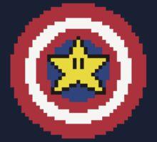 Captain pixel Kids Tee