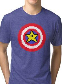 Captain pixel Tri-blend T-Shirt