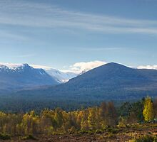 Walks In The Cairngorms...Lairig Ghru by Jamie  Green