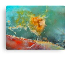 Fire Rose Canvas Print