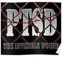 PTSD - The Invisible Wound Poster