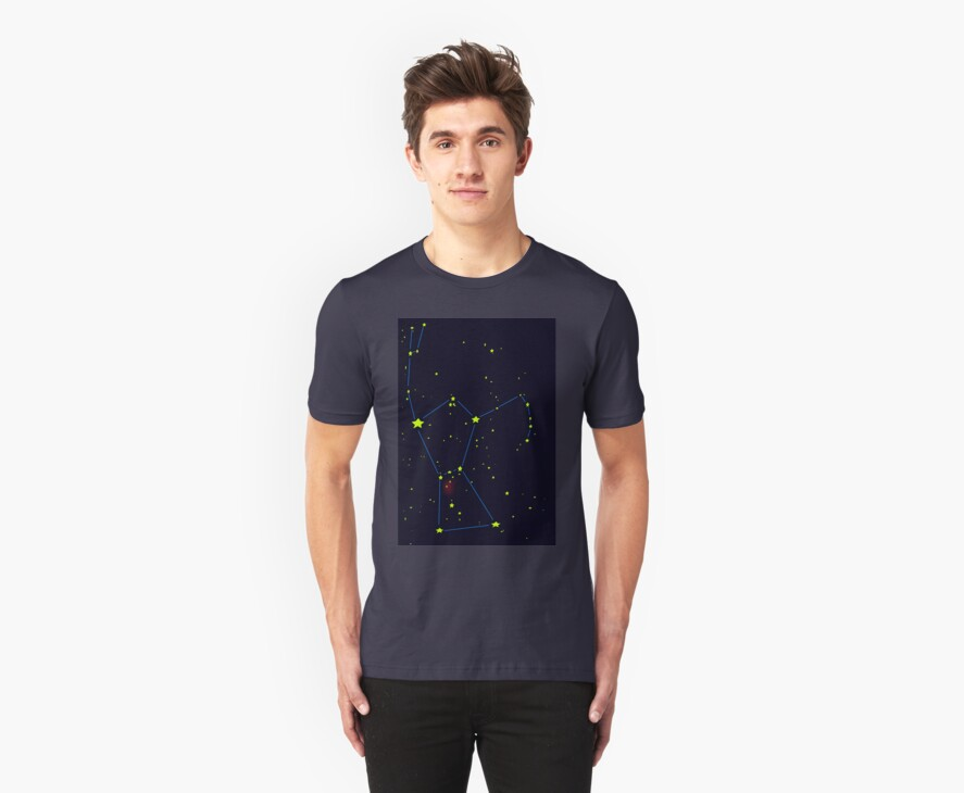Orion constellation by stuwdamdorp