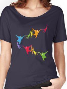 Rainbow Monkeys Women's Relaxed Fit T-Shirt
