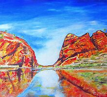 Glen Helen Gorge N.T. by gillsart