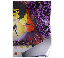 Flyers & Flowers - 'Mystic Monkey' Poster