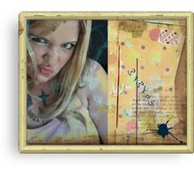Le Blog Canvas Print