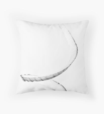 Curly Onion , my twist  Throw Pillow
