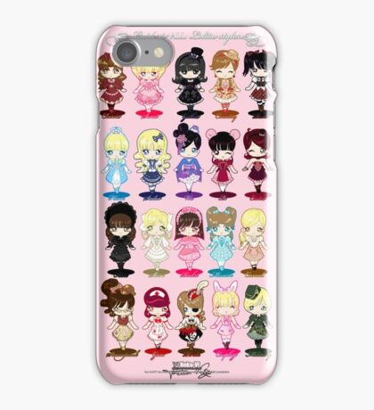 Guide to All Lolita Styles iPhone Case/Skin