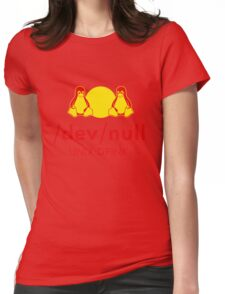 Dev null Womens Fitted T-Shirt