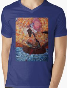 Sceau du Siècle, Vasco da Gama, by Annie Sène Mens V-Neck T-Shirt