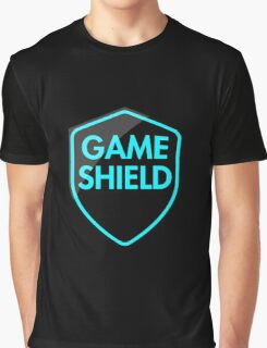 Game Shield (blue) Graphic T-Shirt