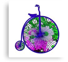 Penny-Farthing Bicycle Canvas Print