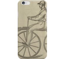 Vintage bike 5 iPhone Case/Skin