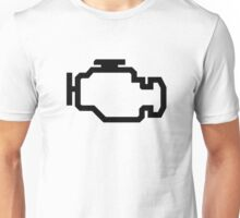 Check Engine Light Unisex T-Shirt