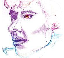 Sherlock Drawing by KitsuneDesigns