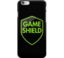Game Shield (green) iPhone Case/Skin