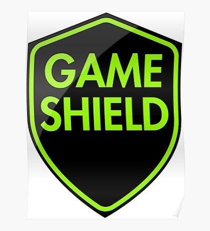 Game Shield (green) Poster