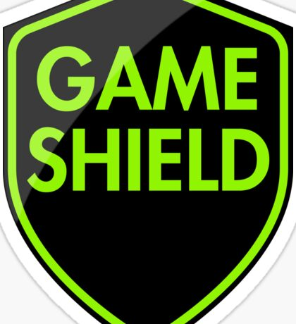 Game Shield (green) Sticker