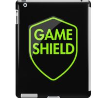 Game Shield (green) iPad Case/Skin