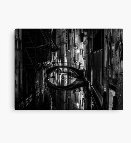 Venice B&W Canvas Print