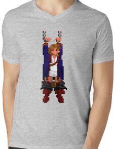 Guybrush hanging (Monkey Island 2) Mens V-Neck T-Shirt