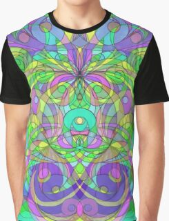 Ethnic Style Graphic T-Shirt