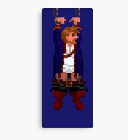 Guybrush hanging (Monkey Island 2) Canvas Print