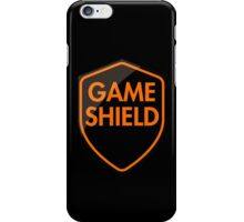 Game Shield (orange) iPhone Case/Skin