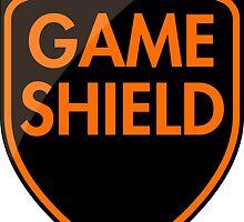 Game Shield (orange) by xtrolix