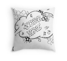 Young Wave Throw Pillow