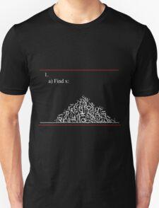 Math problem Unisex T-Shirt