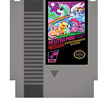 MLP Retro Cart Photographic Print