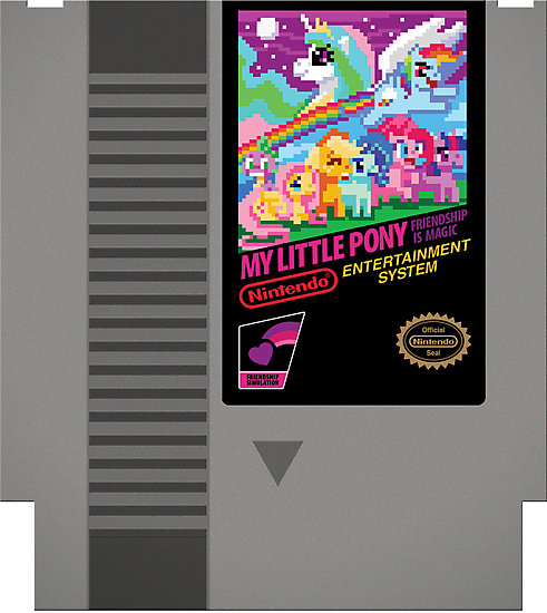 MLP Retro Cart by Kari Fry