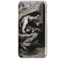 Théophile Alexandre Steinlen A desperately unhappy mother cradling her sick child 1902 iPhone Case/Skin