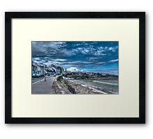 Sea Front Framed Print