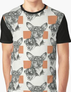 Rat Terrier, Father & Son Graphic T-Shirt