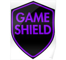 Game Shield (purple) Poster