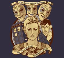The Doctor and the monsters Unisex T-Shirt
