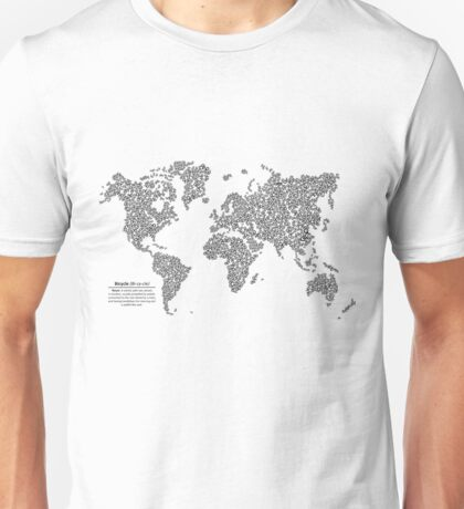 Bike Atlas Black Unisex T-Shirt