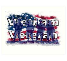 Vietnam Veteran Art Print