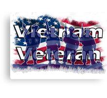 Vietnam Veteran Canvas Print