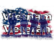 Vietnam Veteran Photographic Print